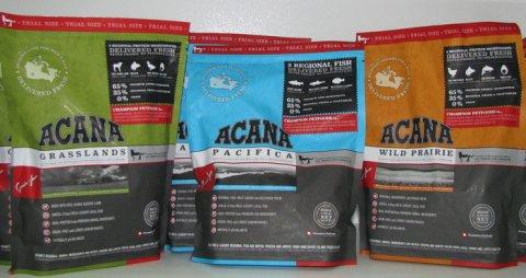 Описание и достоинства корма  для кошек Acana, отзывы