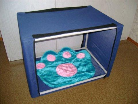 Инструкция по самостоятельному изготовлению выставочной палатки для кошек